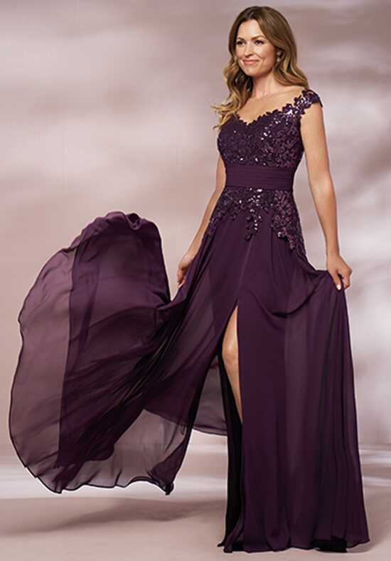 Jade J205012 Purple Mother Of The Bride Dress