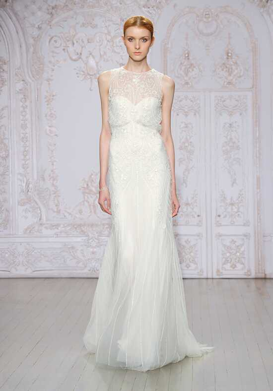 Monique Lhuillier Timeless Sheath Wedding Dress