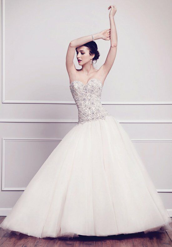 Kenneth Winston 1562 Ball Gown Wedding Dress