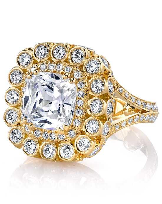 Erica Courtney Gorgeous & Engaged Glamorous Cushion Cut Engagement Ring