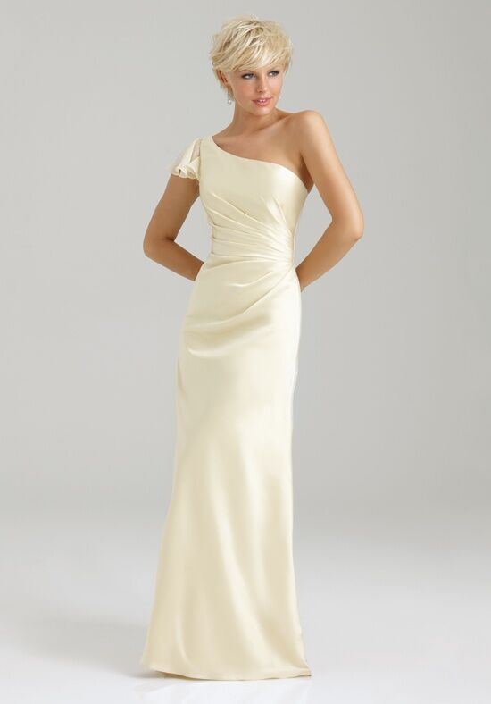 Allure Bridesmaids 1332 One-Shoulder Bridesmaid Dress