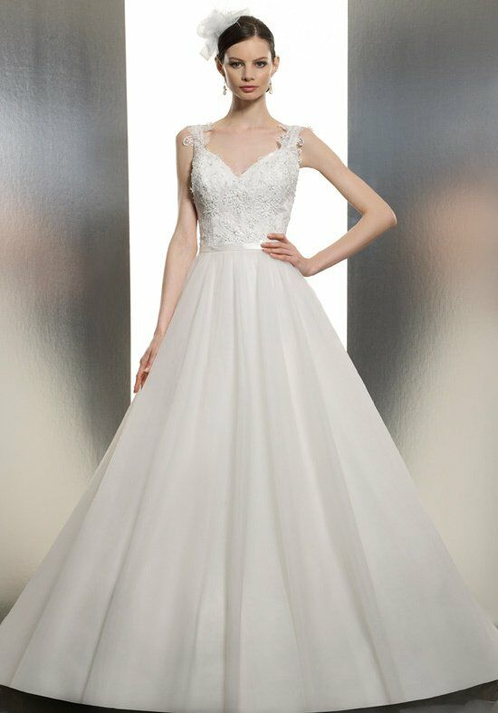 Moonlight tango t634 wedding dress the knot for How do you preserve a wedding dress