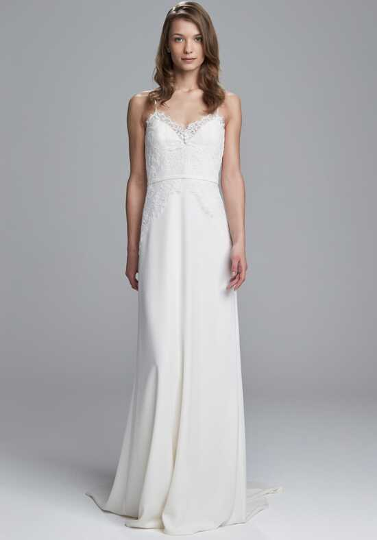 Christos Edie Sheath Wedding Dress