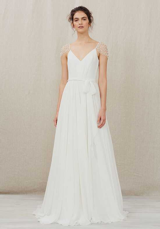 Christos Ivy Ball Gown Wedding Dress