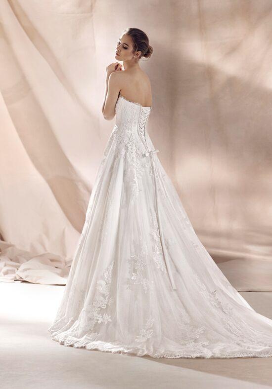 White One Sharon Wedding Dress The Knot
