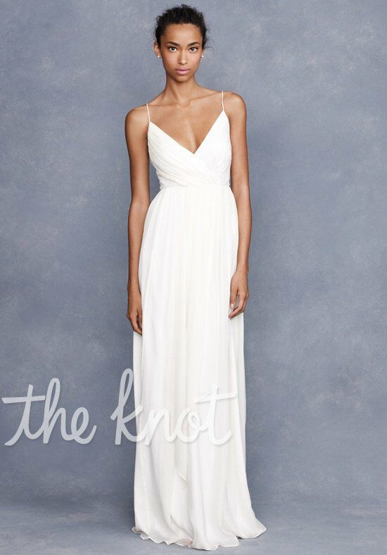 J. Crew Weddings & Parties Angelique Gown A-Line Wedding Dress