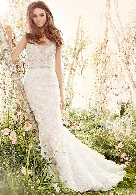 Jim Hjelm 8414 Mermaid Wedding Dress