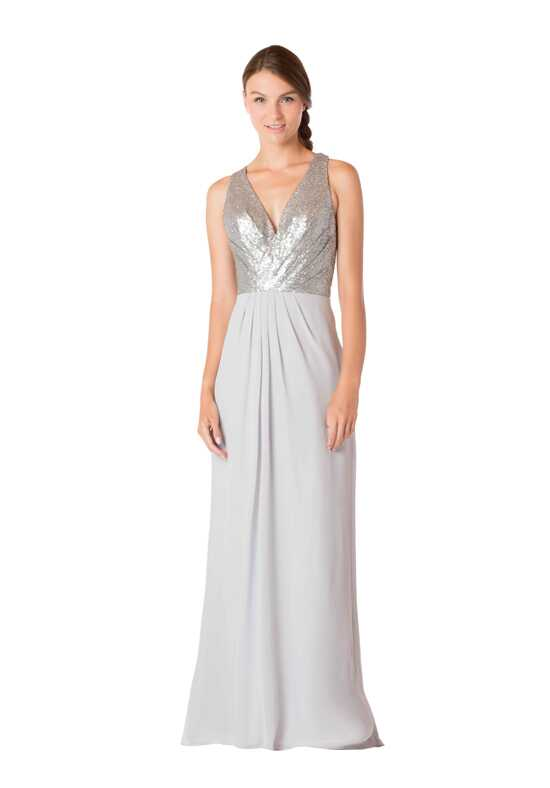 Bari Jay Bridesmaids 1701 V-Neck Bridesmaid Dress
