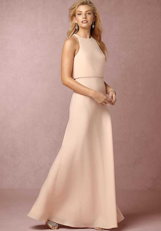 BHLDN (Bridesmaids) Iva Crepe Maxi Scoop Bridesmaid Dress