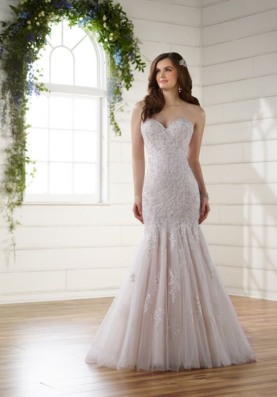 Essense of Australia D2116 Mermaid Wedding Dress