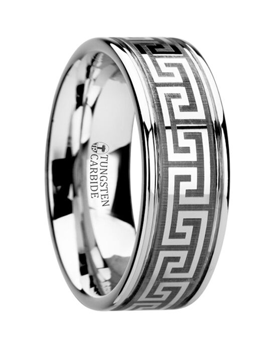 Mens Tungsten Wedding Bands W2945-TCGK Tungsten Wedding Ring