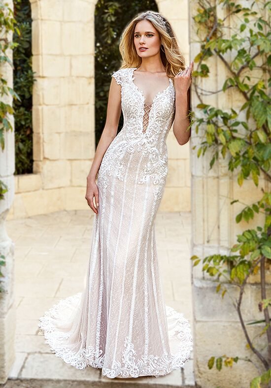 Moonlight Couture H1355 Mermaid Wedding Dress