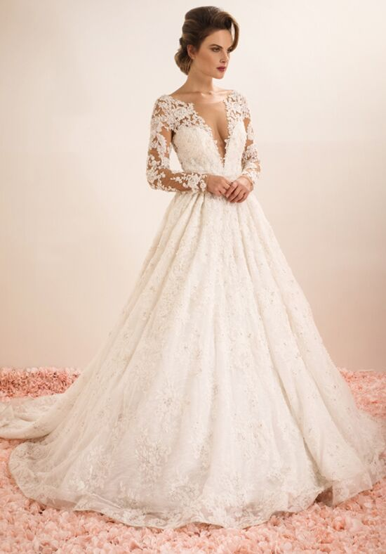 Ysa makino kym62 wedding dress the knot for Ysa makino wedding dress