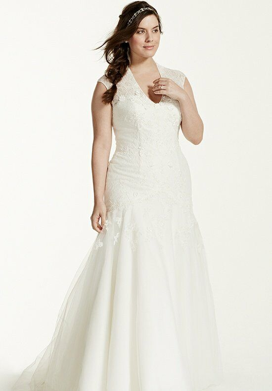 David's Bridal David's Bridal Woman Style MS251005W Wedding Dress
