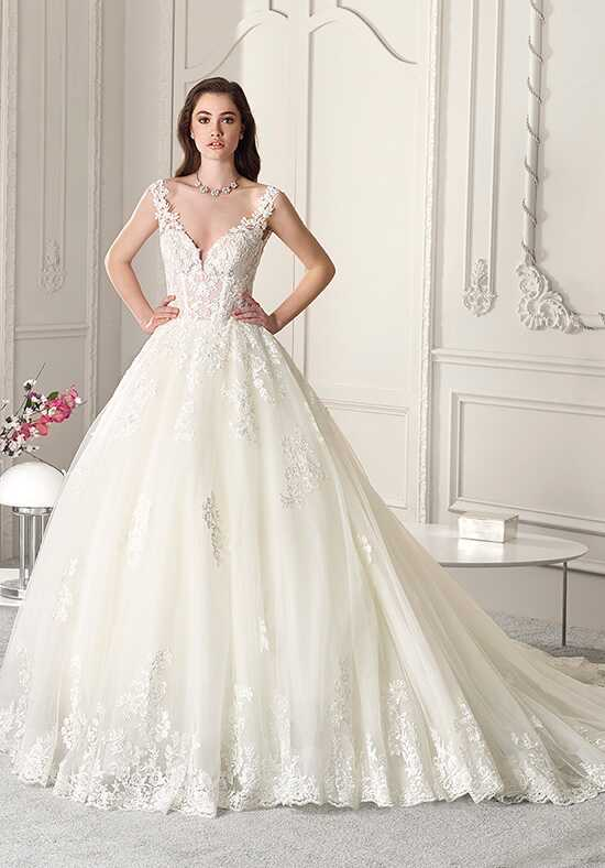 Demetrios 865 Ball Gown Wedding Dress