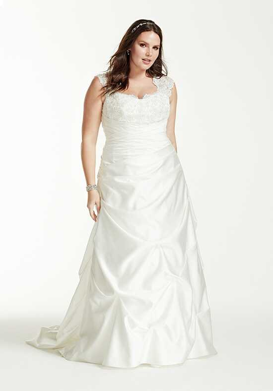 David's Bridal David's Bridal Collection Style 9T3090 A-Line Wedding Dress
