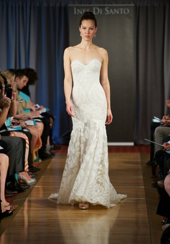 Ines Di Santo Amour Sheath Wedding Dress