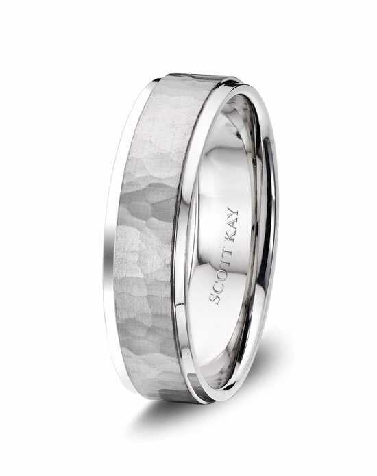 Scott Kay C4025C65-6 Platinum Wedding Ring