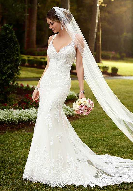 Stella York 6142 Sheath Wedding Dress
