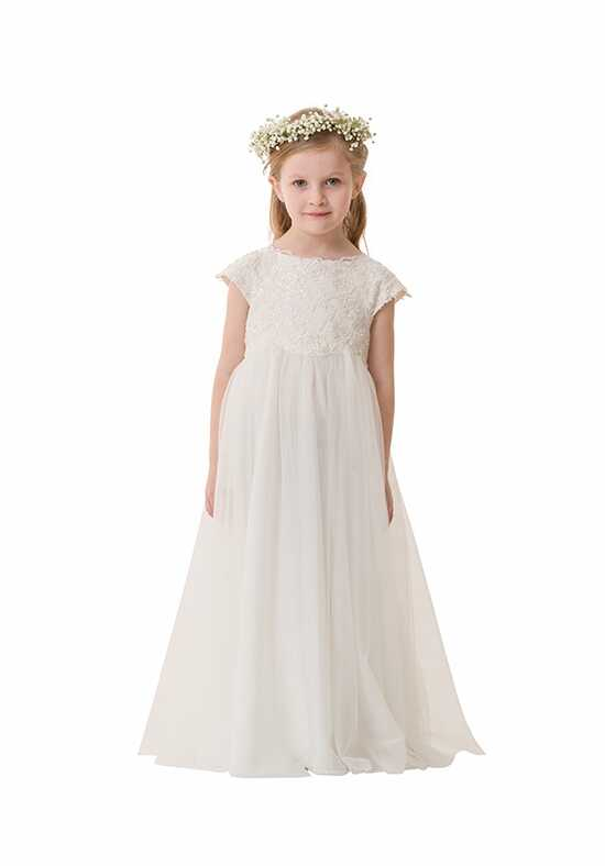 Bari Jay Flower Girls F5316 Ivory Flower Girl Dress