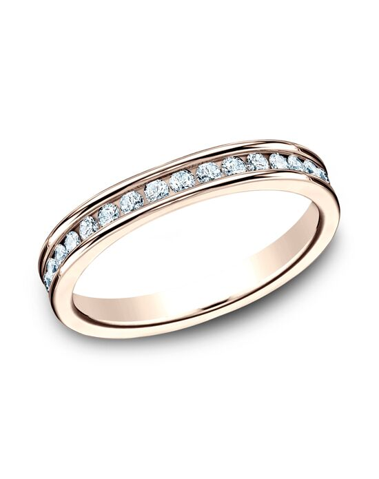 Benchmark 513550R Rose Gold Wedding Ring