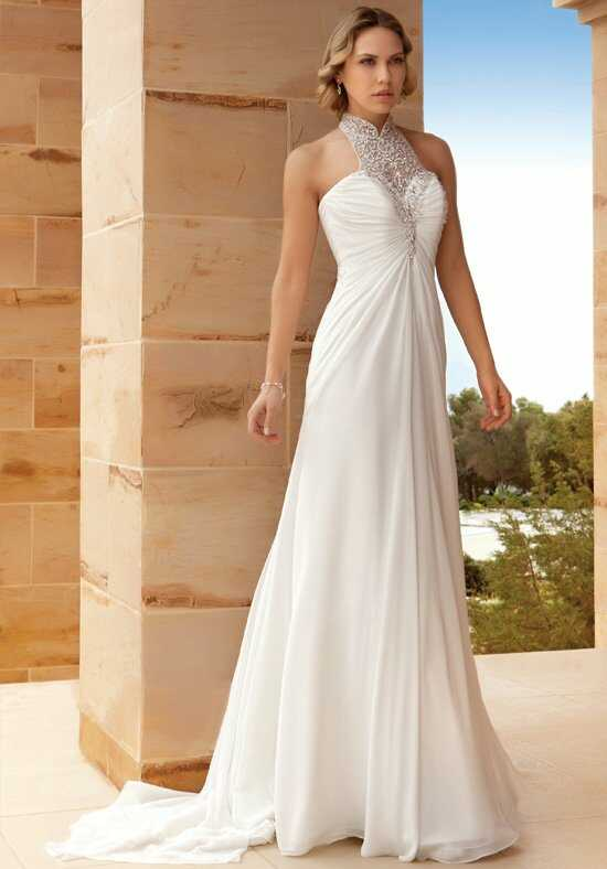 Demetrios DR197 A-Line Wedding Dress