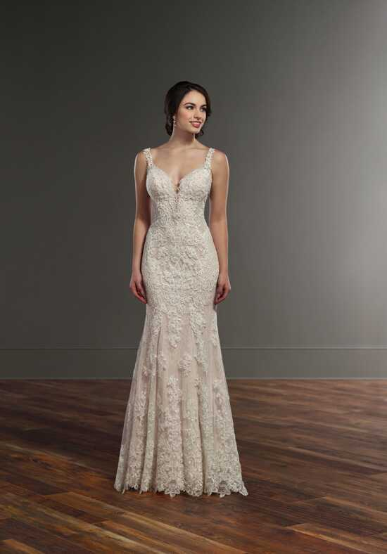 Martina Liana 917 Sheath Wedding Dress