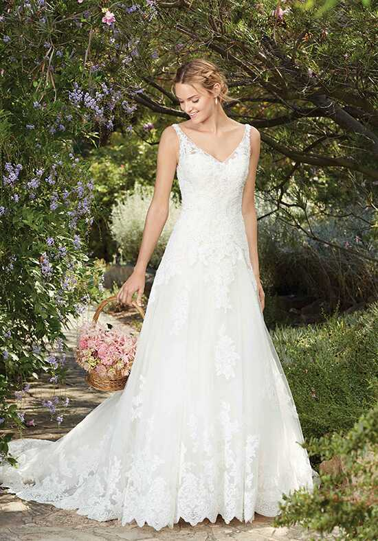 Casablanca Bridal Style 2269 Plumeria Wedding Dress photo