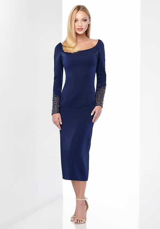 Social Occasions by Mon Cheri 218807 Blue Mother Of The Bride Dress