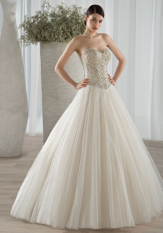 Demetrios 584 Ball Gown Wedding Dress