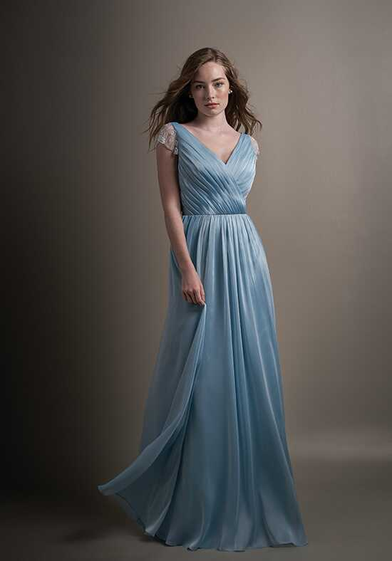 Belsoie L194012 V-Neck Bridesmaid Dress