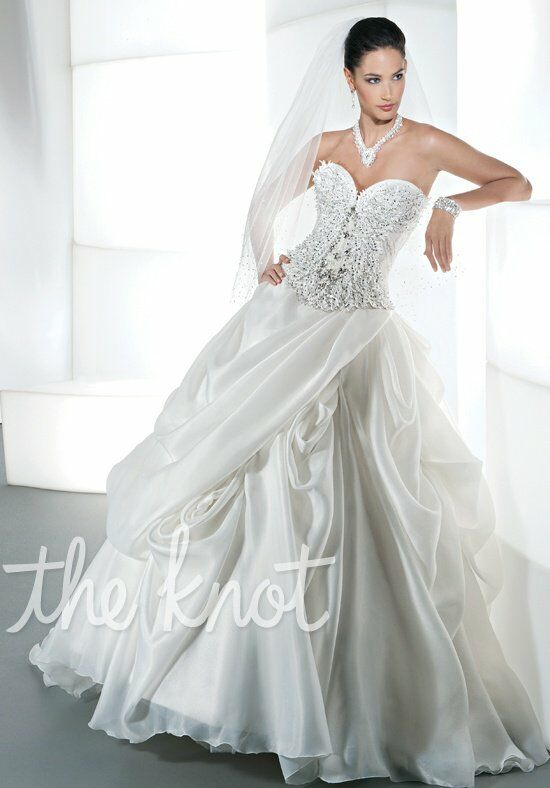 Demetrios 2866 Ball Gown Wedding Dress