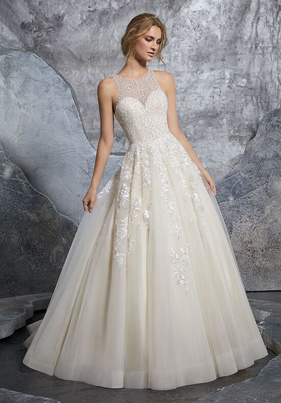 Morilee by Madeline Gardner Kiara/ 8215 Ball Gown Wedding Dress