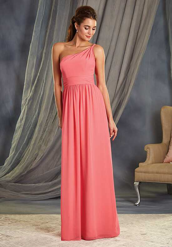 Alfred Angelo Signature Bridesmaids Collection 7369L One Shoulder Bridesmaid Dress