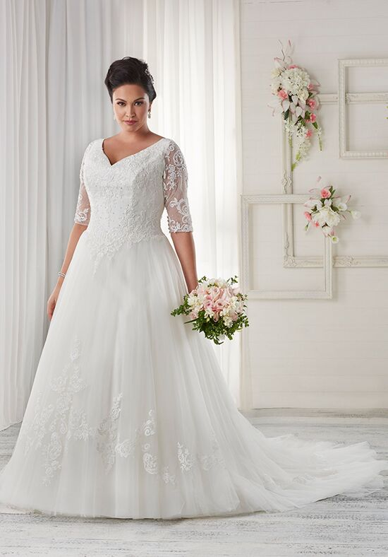 Unforgettable by Bonny Bridal 1610 A-Line Wedding Dress