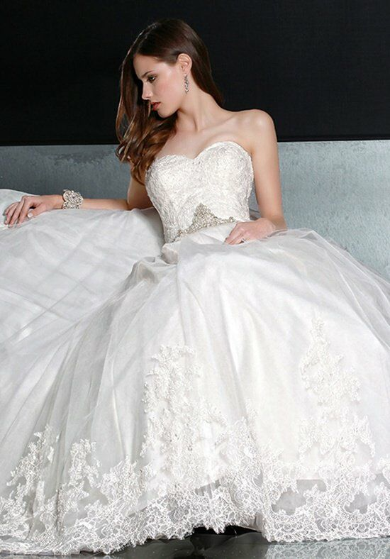 DaVinci Bridal 50193 Ball Gown Wedding Dress