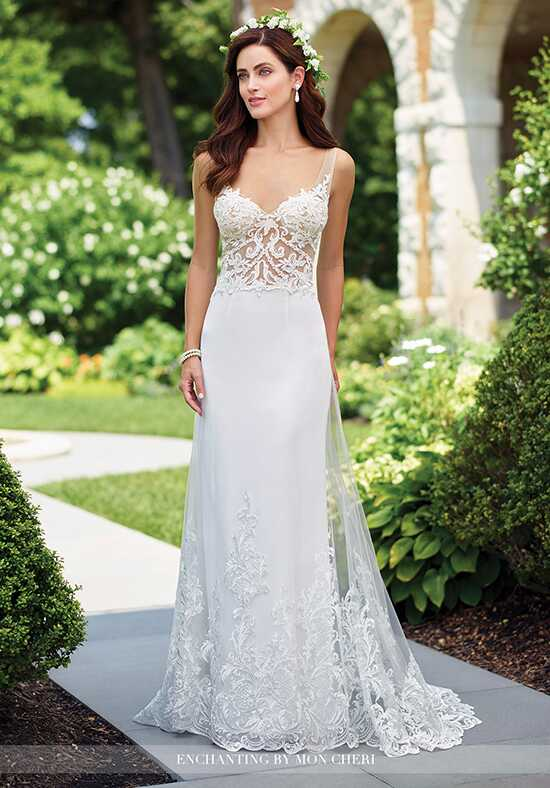 Enchanting by Mon Cheri 117191 A-Line Wedding Dress