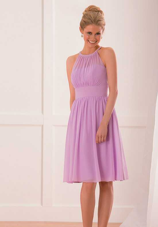 B2 by Jasmine B173012 Halter Bridesmaid Dress