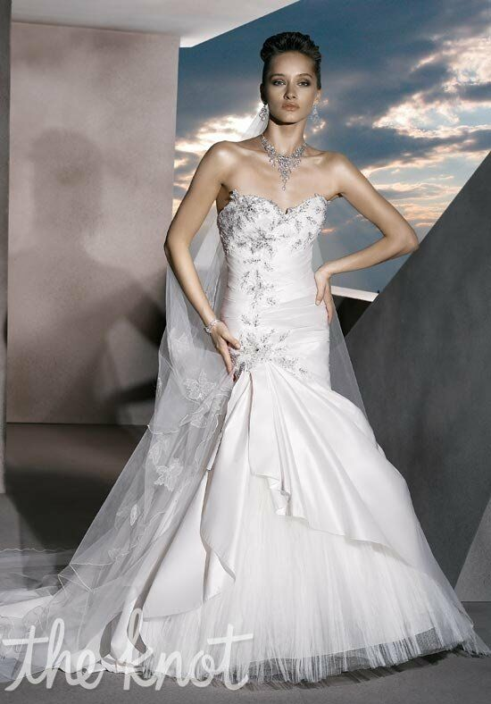 Demetrios 4301 Mermaid Wedding Dress