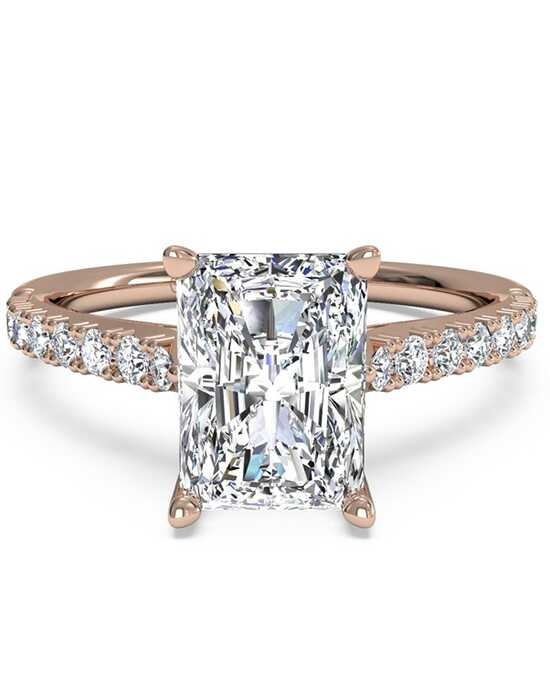 Ritani Classic Radiant Cut Engagement Ring