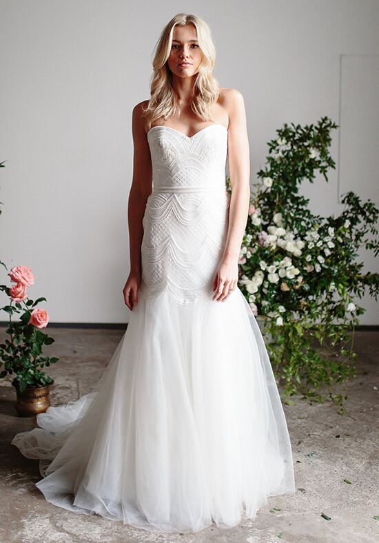 KAREN WILLIS HOLMES Ophelia Mermaid Wedding Dress