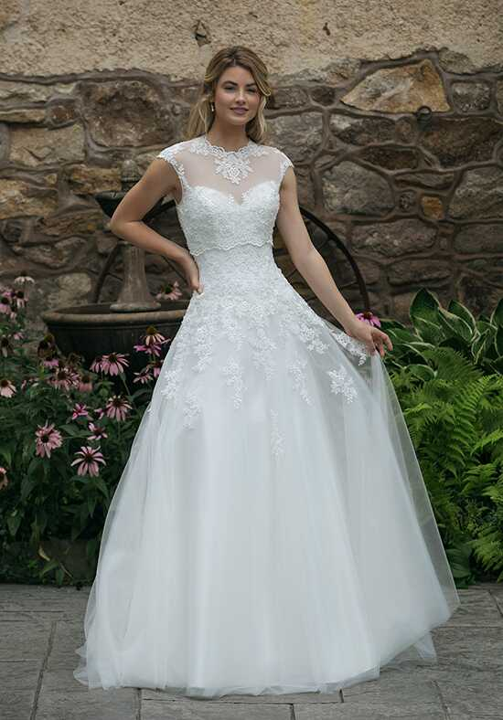 Sincerity Bridal 44050 A-Line Wedding Dress