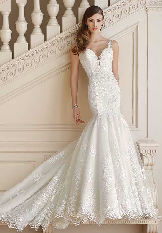 David Tutera for Mon Cheri 217213 Mabel Mermaid Wedding Dress