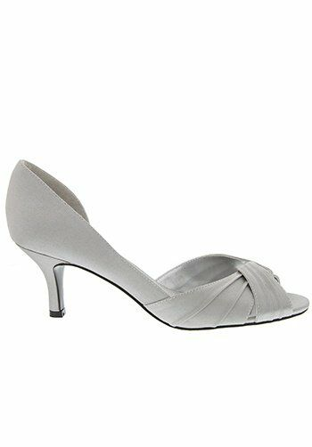 Nina Bridal Wedding Accessories CULVER_ROYAL SILVER Shoe