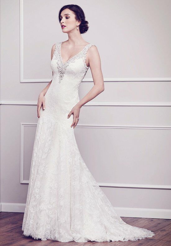 Kenneth Winston 1582 Mermaid Wedding Dress