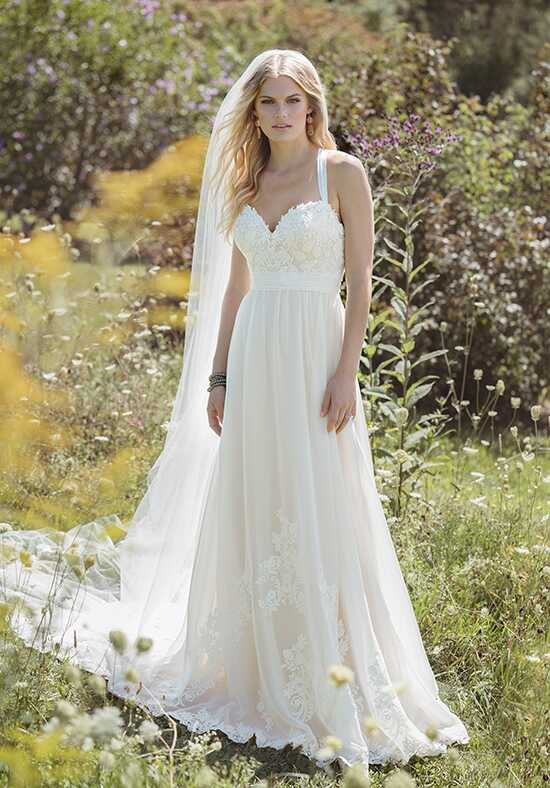 Lillian West 6481 A-Line Wedding Dress