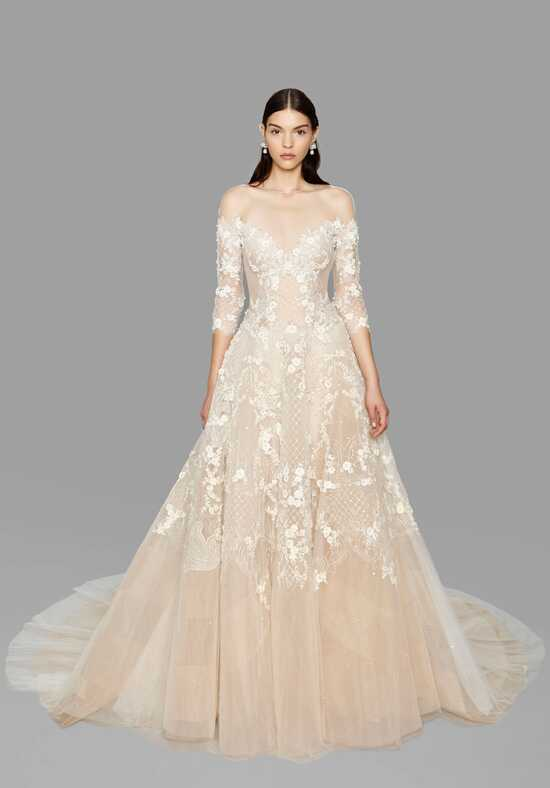 Marchesa Wilshire A-Line Wedding Dress