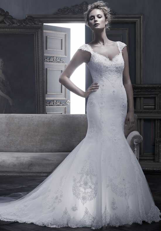 Amaré Couture by Crystal Richard B053 Mermaid Wedding Dress