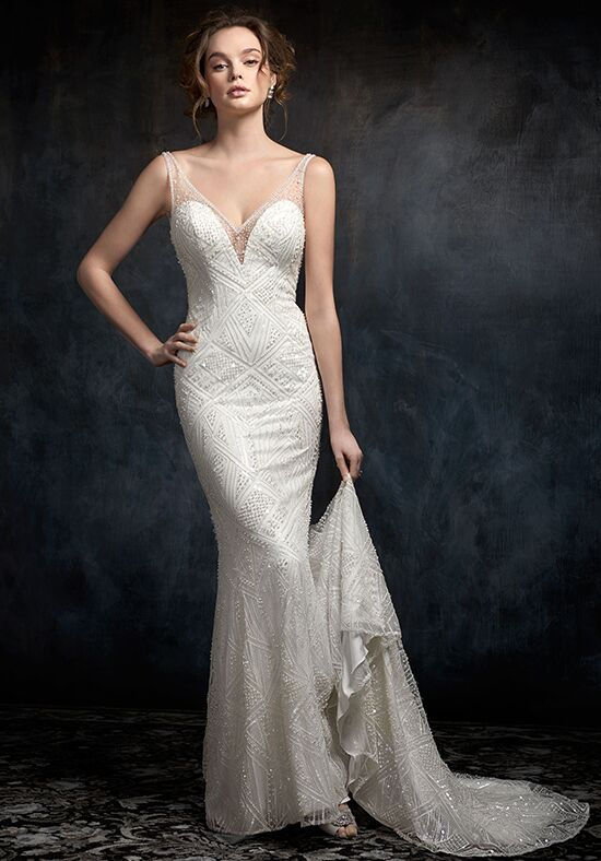 Kenneth Winston 1748 Sheath Wedding Dress