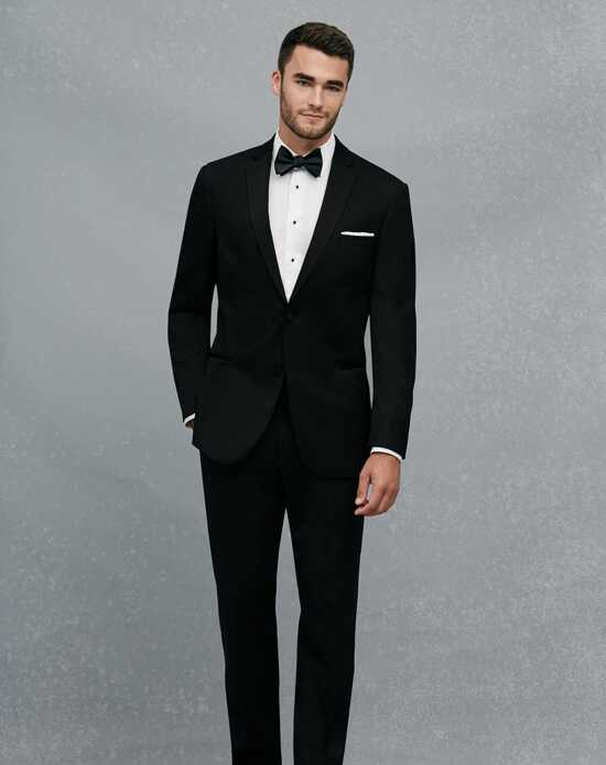 Jos. A. Bank Black Notch Lapel Slim Fit Tuxedo Black Tuxedo